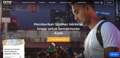 Review Broker Forex Indonesia PT. Octa Investama Berjangka