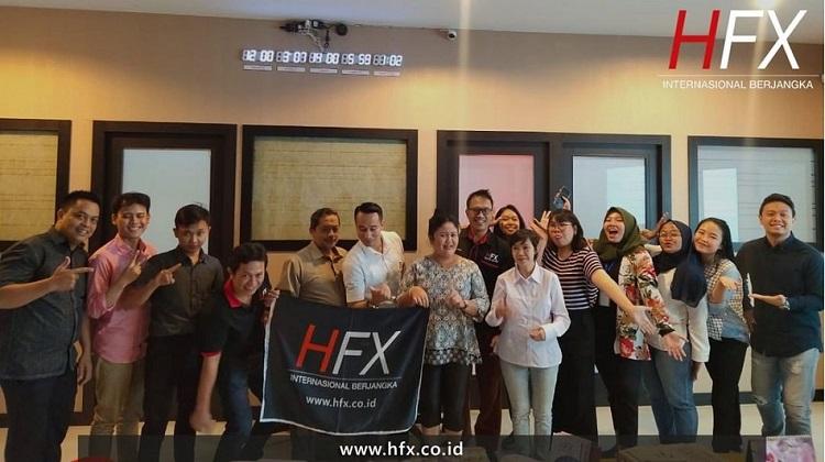 review broker forex PT. HFX Internasional Berjangka
